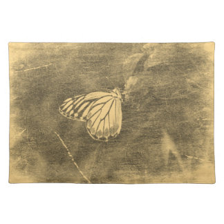 Vintage Butterfly on Flower #2 - Placemats