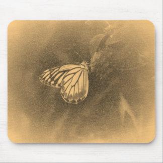 Vintage Butterfly on Flower - Mousepad