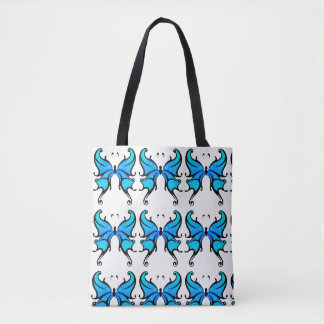 Vintage Butterfly Tote Bag