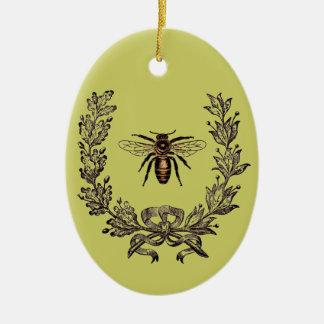 Vintage Buzz Ceramic Ornament