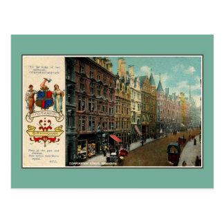 Vintage ca 1900 Birmingham Corporation Street Post Cards