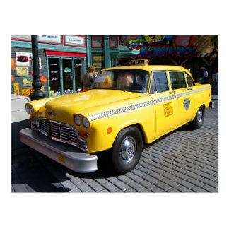 Vintage Cab Postcard! Postcard