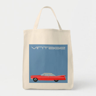 VINTAGE CADILLAC Jumbo Tote Bag