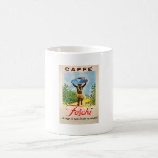 VINTAGE CAFFE POSTER - MUGS
