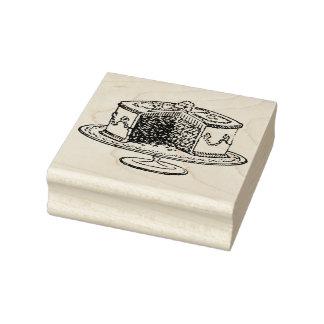 Vintage Cake Rubber Art Stamp