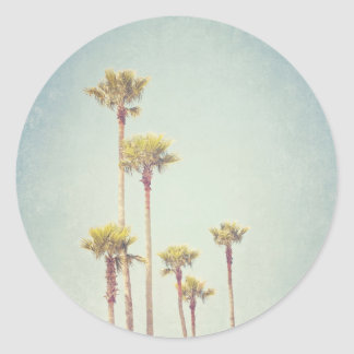 Vintage California Palm Trees Sticker