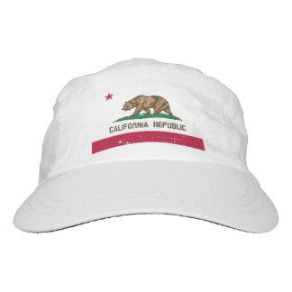 Vintage California Republic flag performance hat