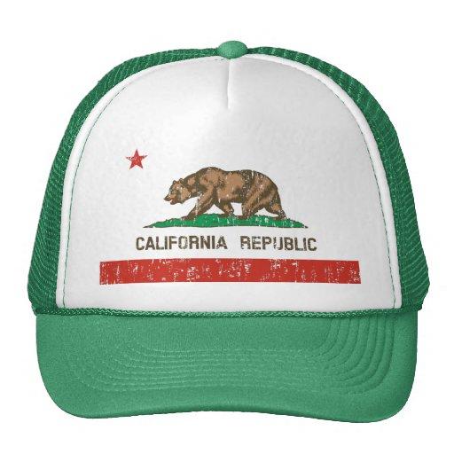 Vintage California Republic State Flag Trucker Hat