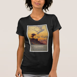 Vintage California Tourism Poster T-Shirt