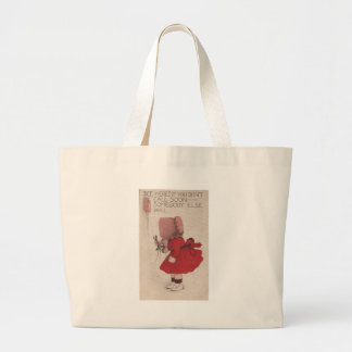Vintage Call Soon or Someone Else Will Jumbo Tote Bag