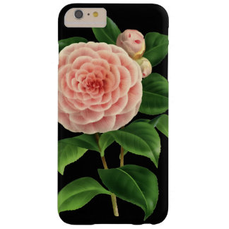 Vintage Camellia Blossom Botanical Barely There iPhone 6 Plus Case