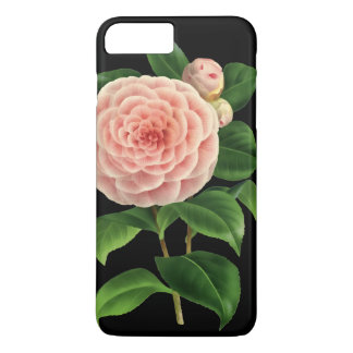 Vintage Camellia Blossom Botanical iPhone 7 Plus Case