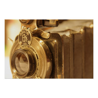 Vintage Camera 2 Poster