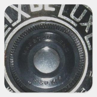 Vintage Camera 2 Square Sticker