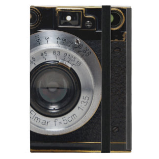 VINTAGE CAMERA 3 German Rangefinder 1932  iPad Case For iPad Mini