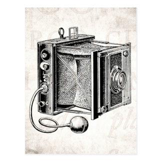 Vintage Camera - Antique Cameras Photography Black Postcard