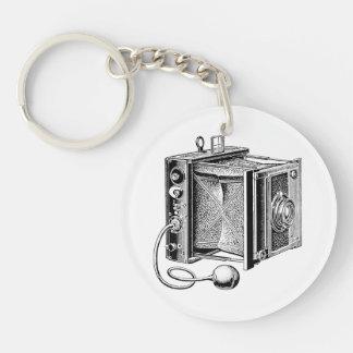 Vintage Camera - Antique Cameras Photography Key Ring