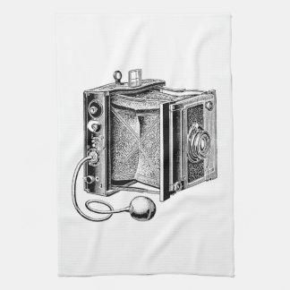 Vintage Camera - Antique Cameras Photography Tea Towel