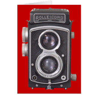 Vintage Camera Blank Card