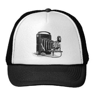 Vintage Camera Design Clothing Cap