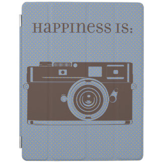 Vintage Camera HAPPINESS IS: Ipad Cover