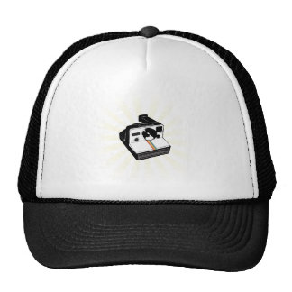 Vintage Camera Mesh Hats