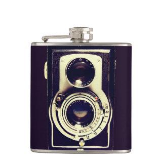 Vintage Camera Hip Flask