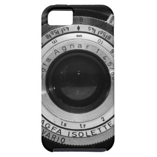 Vintage camera lens iPhone 5 cases