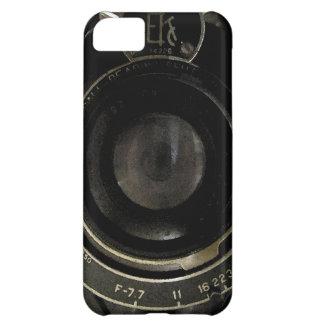 Vintage Camera Lens Case For iPhone 5C