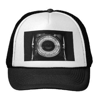 Vintage camera lens hat