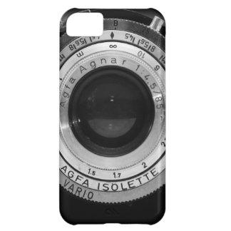 Vintage camera lens iPhone 5C case