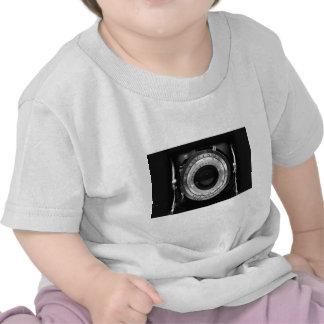 Vintage camera lens t-shirts