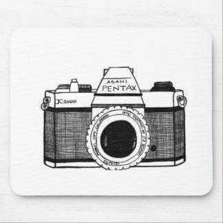 Vintage Camera Mouse Pad
