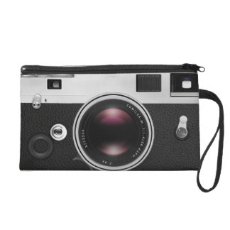 Vintage Camera Old Fashion Look Wristlet Purses