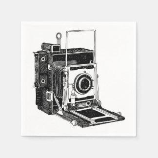 Vintage Camera Paper Napkin