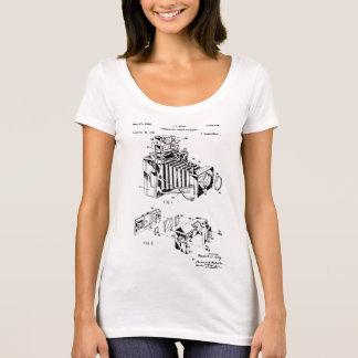 Vintage Camera Patent Women's T-Shirts