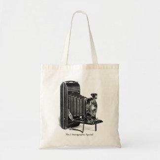 Vintage Camera Photograpy No.1 Autographic Special Budget Tote Bag