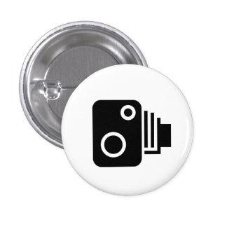 'Vintage Camera' Pictogram Button