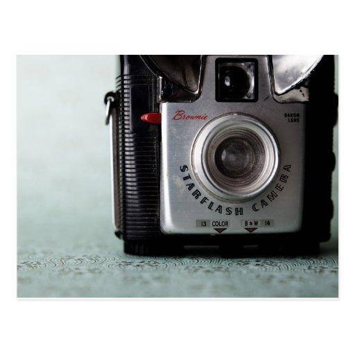 Vintage Camera Postcard - Brownie