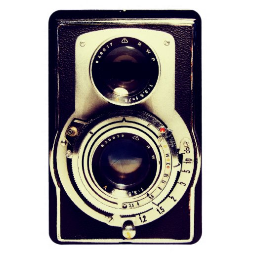 Vintage Camera Flexible Magnet