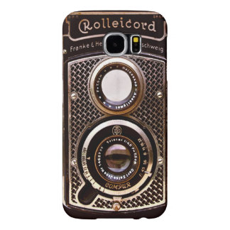 Vintage camera rolleicord art deco samsung galaxy s6 cases