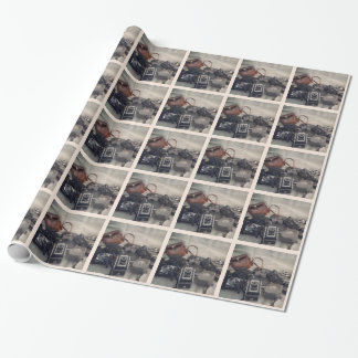 Vintage Camera Still Life Wrapping Paper
