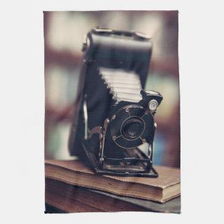 Vintage Camera Tea Towel