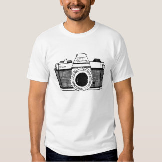 Vintage Camera Tshirt