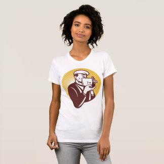 Vintage Cameraman Womens T-Shirt