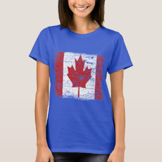 Vintage Canada Flag T Shirt design.
