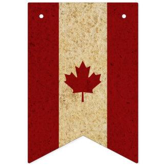 Vintage Canadian Maple Leaf Flag