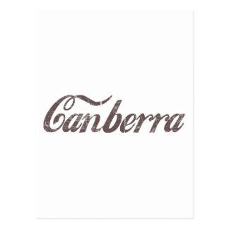 Vintage Canberra Postcard