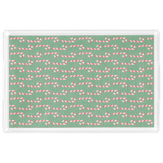 Vintage Candy Canes Pattern
