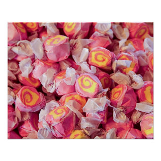 Vintage candy in old fashioned candy shop 2 poster